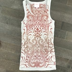 Romeo and Juliet Couture Psychedelic Tank Top